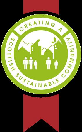 Scottish sustainable communities initiative award logo